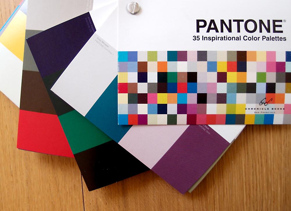 Pantone color palettes